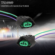 OE H11 H8 Female Adapters Wiring Harness Sockets w/ 4