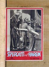 SPERDUTI NELL'HAREM fotobusta poster Abbott Costello Lost in a Scimitarra C93
