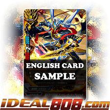 Buddyfight x 4 100-Dragon Overseer of Mercenary Band, Anthem the Dual Sword [X-B