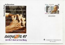 España Barnafil 97 Sobre Entero Postal del año 1997 (DP-862)