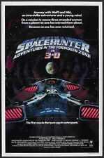 Spacehunter Poster 02 Metal Sign A4 12x8 Aluminium