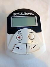 Bell Phones Answering Machine Model 77125 White No Cords For Parts Or Repair