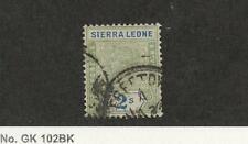 Sierra Leone, Postage Stamp, #44 Used, 1896, JFZ