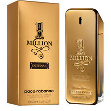 1 One Million Intense by Paco Rabanne 3.4 oz EDT for Men New In Box 100ml