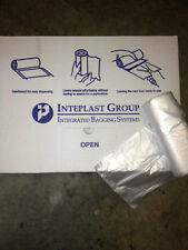 "Lot /13 Gallon Natural HDPE Trash Can Liner Garbage Bag- 500 QTY  24""x33"" 8 MIC"
