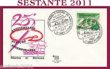 ITALIA FDC ROMA 1972 PITTURE ESTEMPORANEE MARINA DI RAVENNA ANNULLO H90