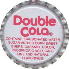 VINTAGE DOPPIO COLA SODA tappo bottiglia USA BOTTIGLIA TAPPO ORIGINALE ANNI 1970