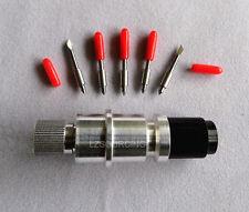 Graphtec CB15 Holder + 5pc 45° graphtec CB15 blades cutting plotter cutter CB15U