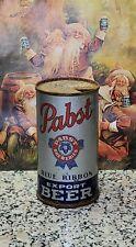 Pabst Blue. Ribbon. Export Beer. Irtp O.I. Flat Top