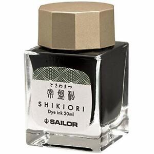 Sailor Fountain Pen Bottle Ink 20ml Shikiori  Green Tokiwa-matsu 13-1008-202