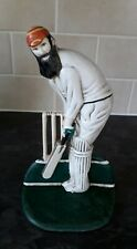 More details for w. g. grace cricket player cast iron door stop