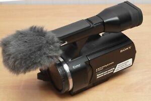 Sony NEX-VG10 EXMOR APS-C PAL Full HD 1080 E Lens Video Camcoder camera