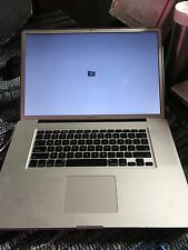 Apple MacBook Pro 17  Laptop - Mid 2009 - Casing Only . Works 100%