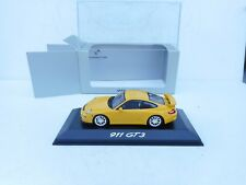 Porsche 911 / 996 GT3 - Minichamps Yellow  1:43  MINT BOXED
