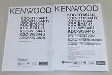 Betriebsanleitung Kenwood Autoradio KDC BT6544U / KDC W5544U Stand 2008