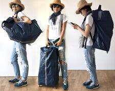 Epa Wheeled Compact Foldable Minimalist Travel Rolling Luggage Backpack Suitcase
