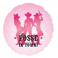 party posse in town 45cm 23116 Balloon free P & P UK
