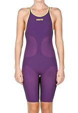 $400 ARENA POWERSKIN CARBON AIR Full Body Short Leg Open Back Tech Suit Size 28