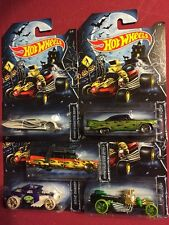 2014 Hot Wheels Kroger Halloween Set - Ghostbusters Ecto-1, Bone Shaker, Ford