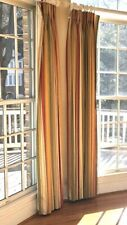 """Triple Pinch Pleat Custom Drapes Curtains 48 X 82"""" Panel -1 Pair (2 Available)"""