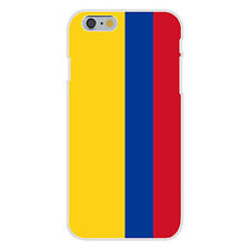 Colombia World Country National Flag Fits iPhone 6 Plastic Snap On Case Cover