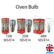 Oven Bulb Lamp 300°C Cooker Appliance Light 15W 25W 40W 240V E14 SES Eveready