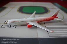 Phoenix Model Rossiya Russian Airlines Boeing 777-230 Leopard Face Model 1:400