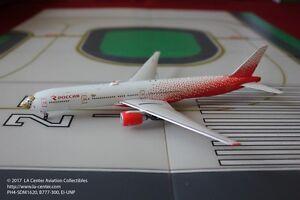 Phoenix Model Rossiya Russian Airlines Boeing 777-300 Leopard Face Model 1:400