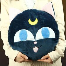 Sailor Moon Pet Cat LUNA P Ball Beads Cushion Pillow Plush Toy Sofa Back Cushion