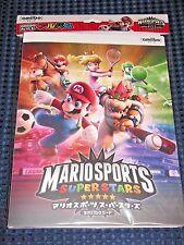 Nintendo Official Mario Sports Superstars amiibo card album file holder JAPAN FS