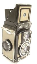 Vintage Yashika-44 TLR 127mm Camera w/ 1:3.5/60mm Yashikor Lens, Made in Japan