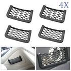4x Car Van Storage Net Pocket Mobile Phone Wallet Holder Net Organiser Bag New