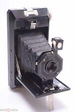 SOHO PILOT BRITISH MADE CAMERA 6X9CM ON 120 ROLL FILM BLACK BAKELITE