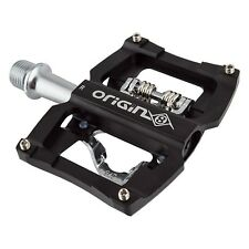 "Origin8 Dual Sport Spd Single Clipless Pedals  - 9/16"" - Sealed Cart.  - Black -"