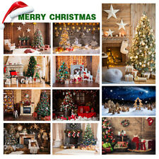 3x5/5x7FT Christmas Festival Photography Background Studio Photo Backdrops UK