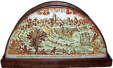 PORTATOVAGLIOLI per tavola CHIETI ANTICA Legno cm. 19 x 9 x 4,50 Cucina Sala NEW