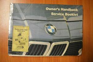 BMW 735i Owner's Handbook (edition 1984) 01479760997