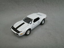 1972 AMC JAVELIN  401 white 1/64 SCALE ~ HAS REAL RUBBER TIRES ~ @@ FREE SHIP@@