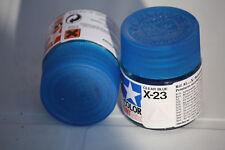 Tamiya Peinture Pot 10cl X23  Clear Blue