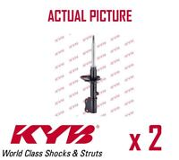 2 x FRONT AXLE SHOCK ABSORBERS PAIR STRUTS SHOCKERS KYB OE QUALITY 633040