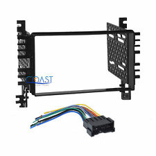 Car Radio Stereo 2 Din Dash Kit Harness for 2001+ Hyundai Elantra Sonata Tiburon