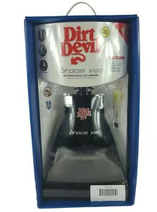 Dirt Devil Broom Vac Cordless Rechargeable Vacuum Black