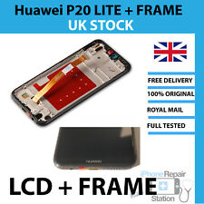 Genuine Huawei P20 Lite LCD Screen Replacement with FRAME ORIGINAL GENUINE PART