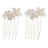 Accessori per acconciature per capelli da sposa con copricapo in strass per