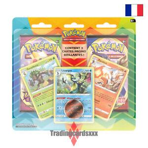 Pokémon - Duo Pack 2 boosters Janvier 2021 : Gorythmic, Pyrobut et Lézargus
