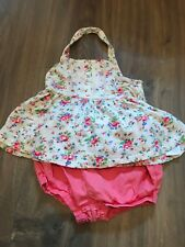 Genuine Ralph Lauren Baby Girl Shorts and halter top Size 18 Months 18M
