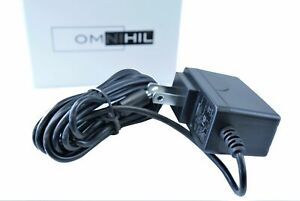 [UL Listed] OMNIHIL 8 Feet Long AC/DC Adapter Compatible with SCHWINN 510e