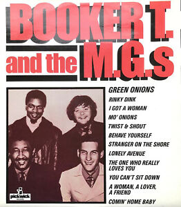 BOOKER T. AND THE M.G.S 1966 PICKWICK LP VINYL RECORD ALBUM FULLY PLAY TESTED