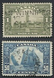 Canada Stamps  #158 & #159 Used