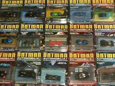 Batman Automobilia Collection: Batmobile, Batboat, Joker, Batcycle, Eaglemoss